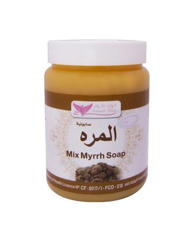 Myrrh mixture soap