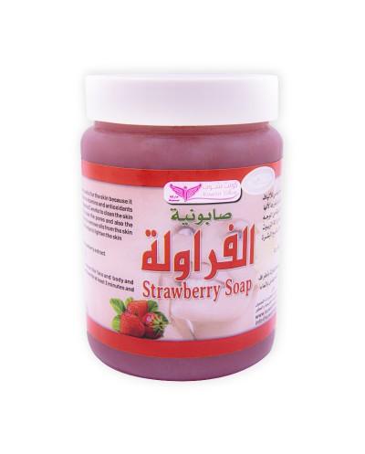 Strawberry mixture soap