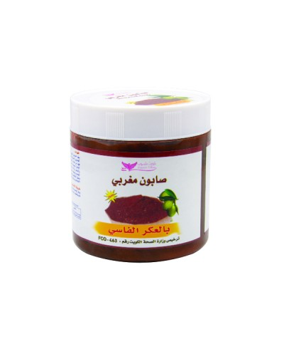 Moroccan soap with Aker Fassi
