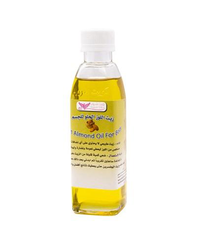 Sweet almond oil for body