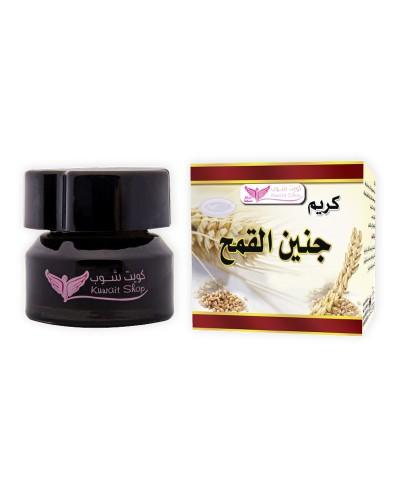 Wheat germ cream for skin